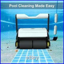 Paxcess Automatic Pool Cleaner, Robotic In-Ground/Above Ground Pool Cleaner With