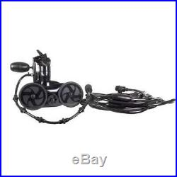 Polaris 280 Black Max Pressure Side Inground Pool Cleaner with Hoses (For Parts)