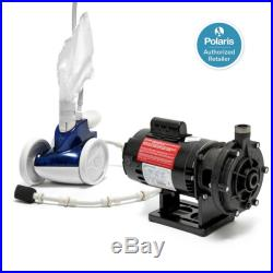 Polaris 380 Pressure Side Automatic Pool Cleaner Sweep + PB4-60 Booster Pump