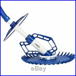 Pool Sweeper Automatic Vacuum Cleaner Swimming Suction Side Climb Wall In Ground
