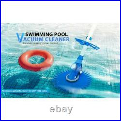 Pool Vacuum Cleaner Suction Swimming Pool Sweeper Automatic Inground AboveGround