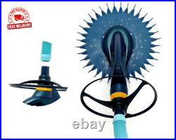 Premium Quality Blue Advanced Suction Side Automatic Pool Cleaner Free Shipping