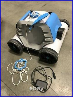 QOMOTOP Robotic Pool Cleaner, Cordless Automatic Pool Cleaner with Battery