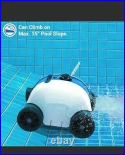 Qomotop Cordless Automatic Pool Cleaner Robotic Rechargeable Vacuum MINT