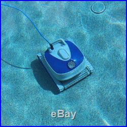 Robotic Swimming Pool Cleaner Control Box Ultra-Efficient Dual Scrubber Brushes