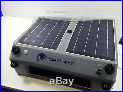 SolaSkimmer Automatic Pool Cleaner Thats Solar Powered