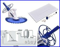 Swimming Pool Cleaner Set Auto Vacuum Cleaner Inground Above Ground 10 Hoses NEW