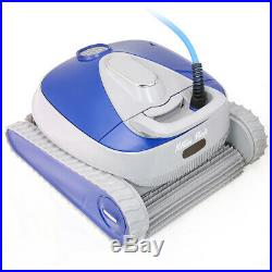 Ultra-Efficient Dual Scrubber Brushes Robotic Swimming Pool Cleaner +Control Box