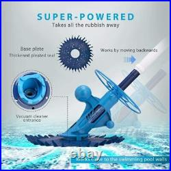 VIVOHOME Upgraded Automatic Inground Swimming Pool Sweeper Vacuum Cleaner Blue