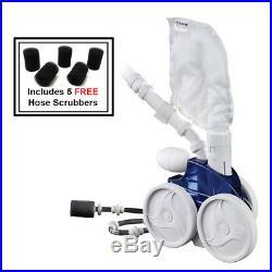 Zodiac Polaris 360 F1 Automatic Pressure Pool Cleaner 5 Scrubber pk Hose & Valve